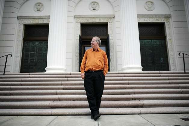 Brewster Kahle operates the Internet Archive in a former Christian Science church in San Francisco's Richmond District. Photo: Michael Short, Special To The Chronicle / SF