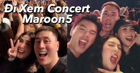 Đi Thái xem Concert Maroon5 siêu đỉnh , Ăn gì khi đến Bangkok | Gia Đình Cam Cam Vlog81