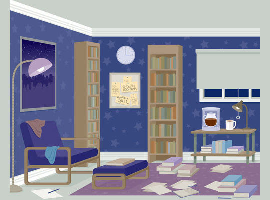 14 Home Interior Illustrations To Inspire Your Decor Vectips
