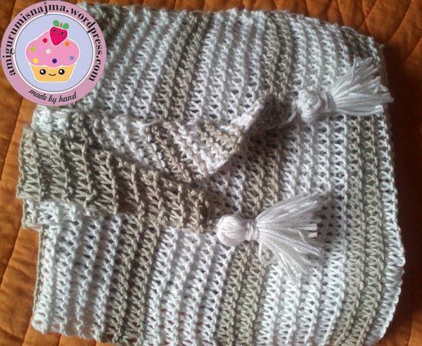 baktus scarf shawlette