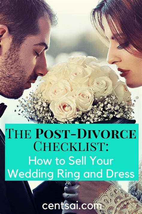 How to Sell a Wedding Ring and Dress After Divorce   CentSai