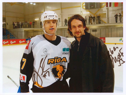 Darby Hendrickson and Sergei Zholtok