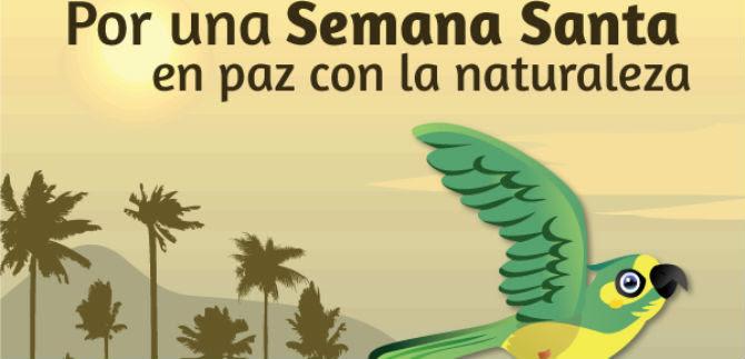 Dagma invita a vivir una Semana Santa en paz con la naturaleza