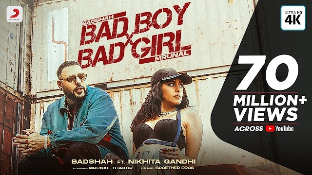 BAD BOY X BAD GIRL LYRICS - BADSHAH