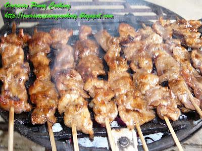 Pork Barbecue - Cooking procedure