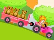 لعبة سيارات باربي