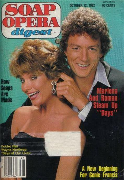 Deidre Hall & Drake Hogestyn: Soap Opera Digest Cover Tribute