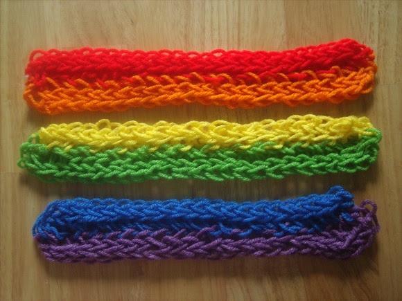 Про вязание на руках