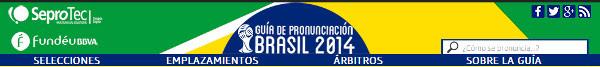 Guia sonora Mundial2014