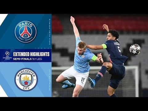 Paris Saint-Germain vs. Manchester City: Extended Highlights
