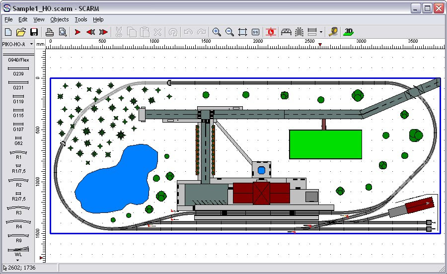 Izzy man: Model train layout software freeware