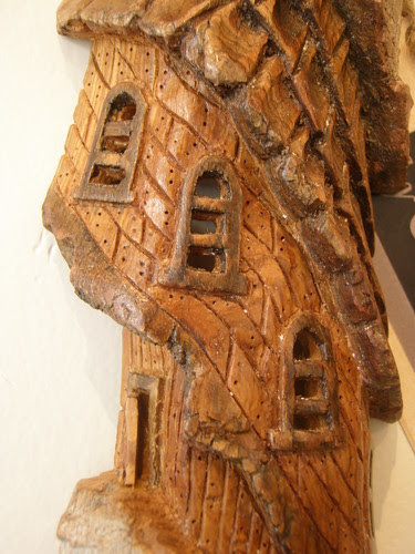 carved houses