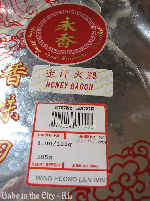 Honey Bacon from Wing Heong