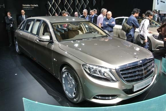 2017 Mercedes-Maybach Pullman set for Geneva launch - Kelley Blue Book