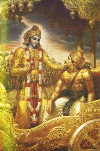 Krishna Arjuna Geeta Saar