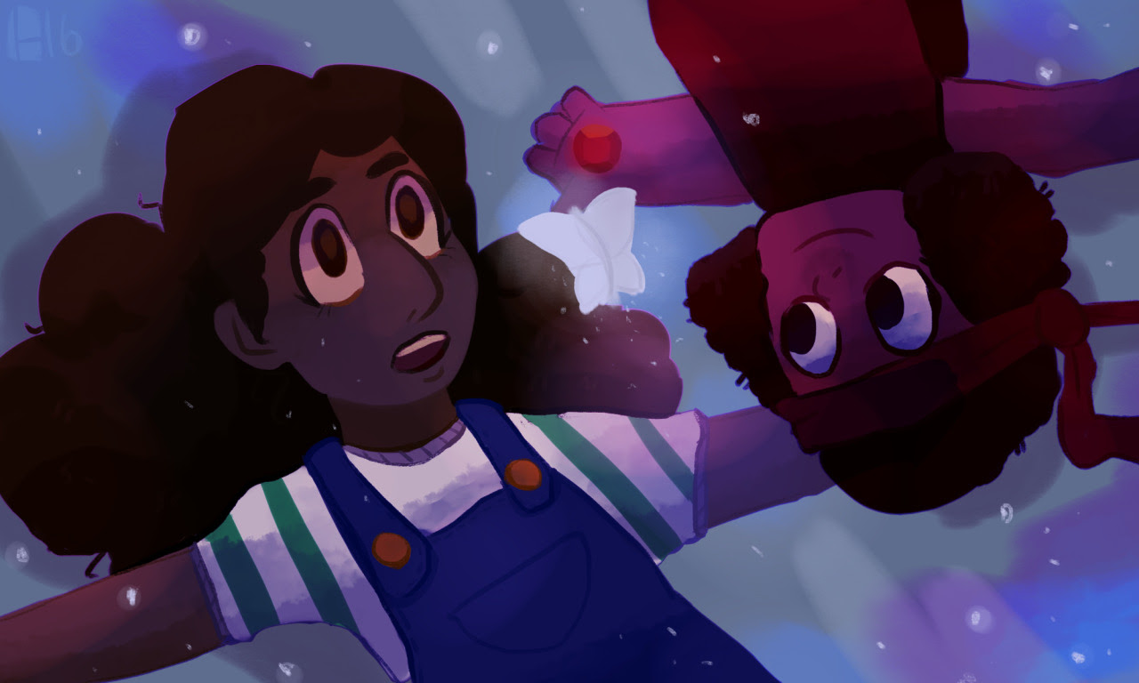 3 AM screencap redraw type thing because i've lost control of my life