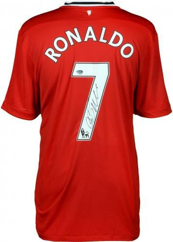 Cristiano Ronaldo Manchester Autographed United Jersey Icons Fanat Footballcourier