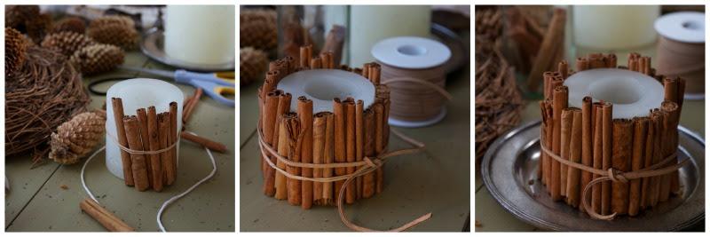 Cinnamon Candle PicMonkey Collage