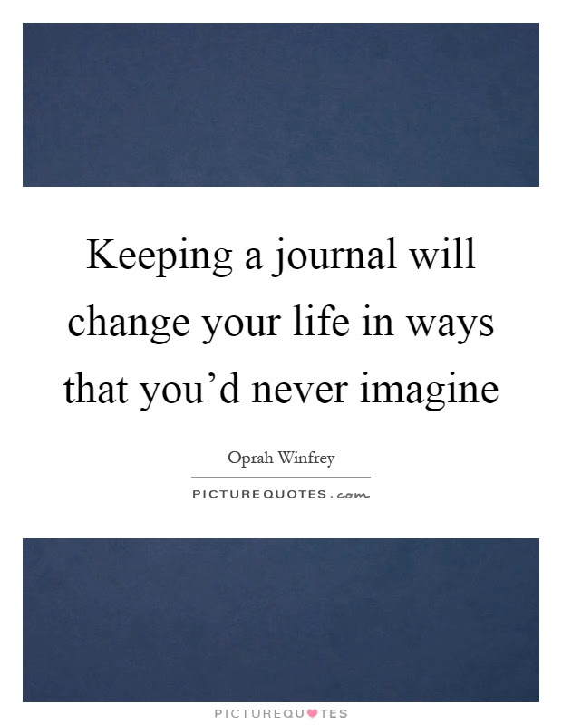 Keeping A Journal Will Change Your Life In Ways That Youd Never