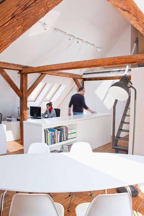Workshop in the Attic by PL_architekci