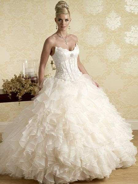 Elegant Collection of Cheap Princess Wedding Dresses