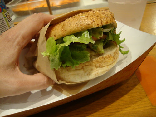Burger at brgr