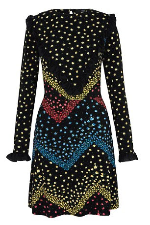 Floral dress, £32, from Next