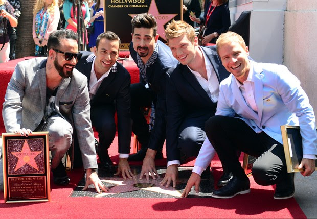 Backstreet Boys (Foto: Frederic J. Brown/AFP)