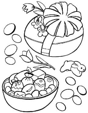 Printable easter-rabbit-coloring-page - Coloringpagebook.com