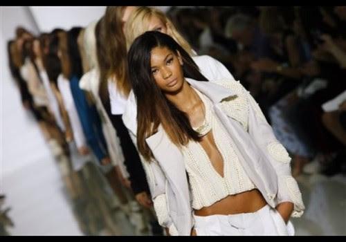 lefashiontaste:  Kanye West fashion show in Paris.