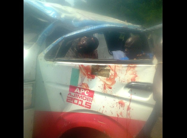 APC Bus In A Fatal Accident In Oyo, 4 Dead (Graphic Photos)