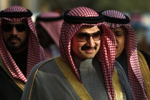 Pictured: Saudi Prince Al-Walid bin Talah