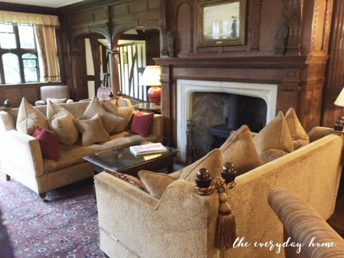 Hever Castle Inn | Sitting Room Fireplace | The Everyday Home