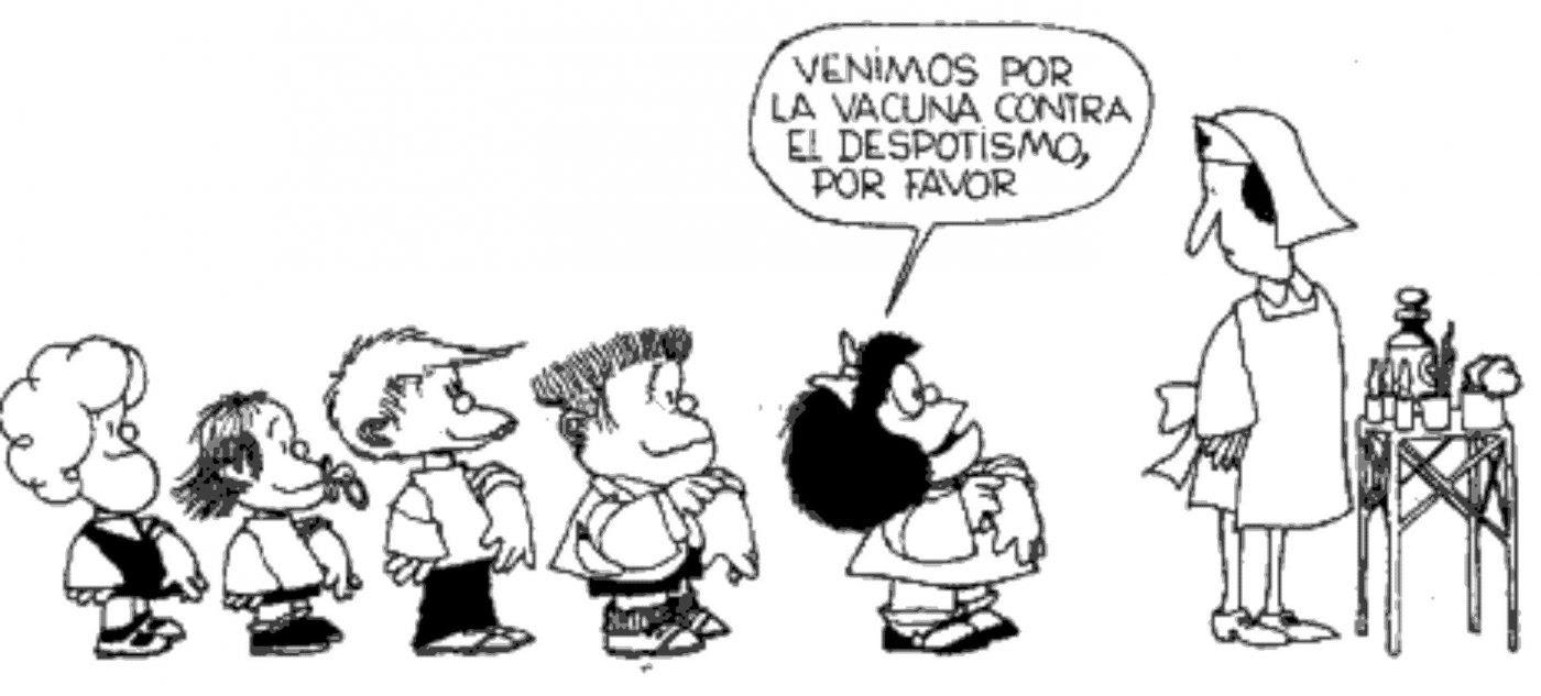 Las 35 Mejores Vinetas De Mafalda De Satira Politica