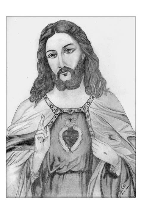 pencil drawings vishnu   jesus christ