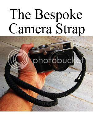 Tim Irving bespoke camera strap