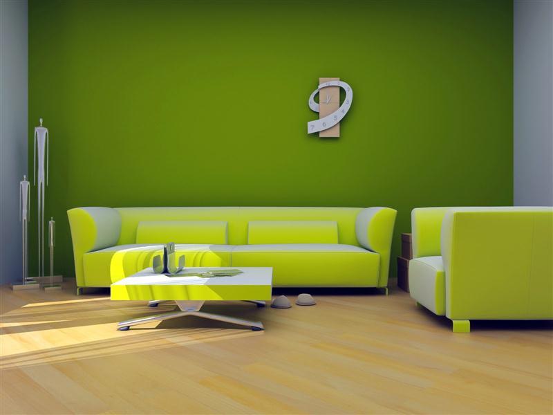 8 Desain Interior Nuansa Warna Hijau Rumah Minimalis