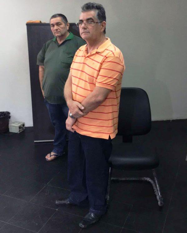 Prefeito Tancledo Lima e o irmão Joaquim Lima
