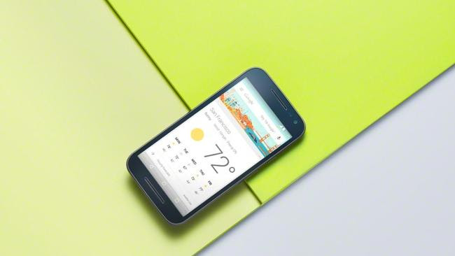Safe from water ... Motorola's newest smartphone, the Moto G 2015, features a waterproof body and 13-megapixel camera.