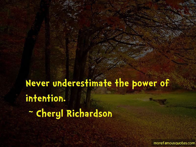 The Power Of Intention Quotes Top 59 Quotes About The Power Of