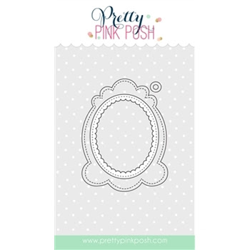 Pretty Pink Posh DECORATIVE TAG 1 Die Set