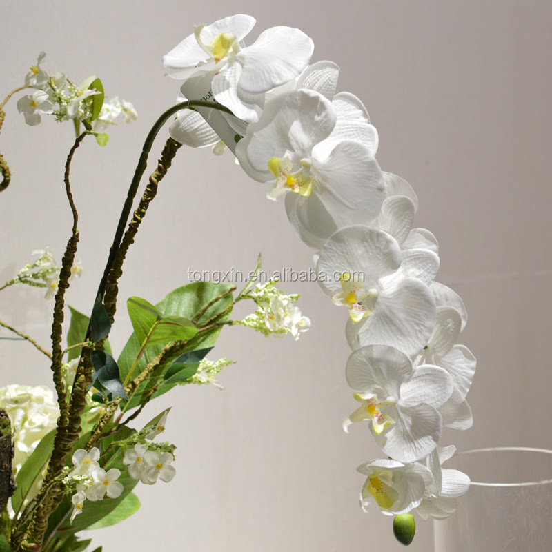 Bulk Phalaenopsis White Wedding Silk Orchids  Buy Silk