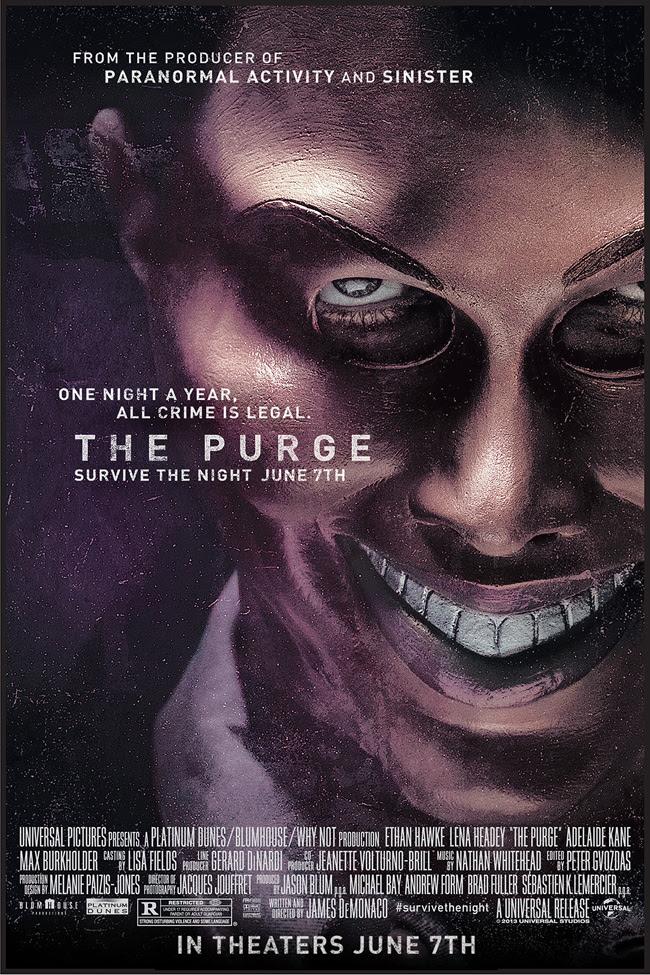 Resultado de imagen para the purge 1 movie poster