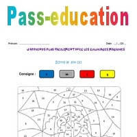 Le Son S Ce2 Coloriage Magique Pass Education