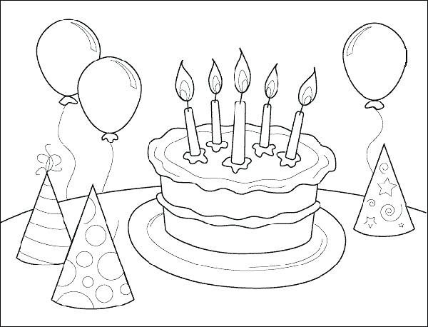 My Little Pony Birthday Coloring Pages at GetColorings.com ...
