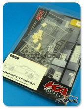 Fotograbados 1/24 SpotModel - KA Models - Porsche Cayman - KMKE24011 - resinas + fotograbados para kit de Fujimi