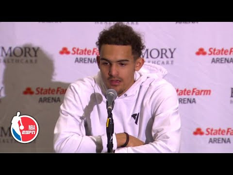 Trae Young opens up about his last conversation with Kobe Bryant
