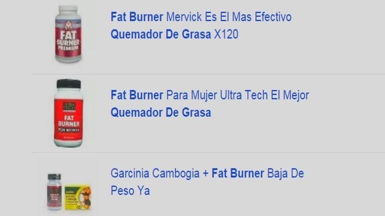 "En Argentina se vende en varios portales de internet como ""Quemador de grasa"" o ""Fat burner""."