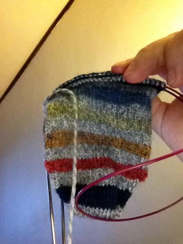 Payton's Kroc - bringing back my knitting mojo