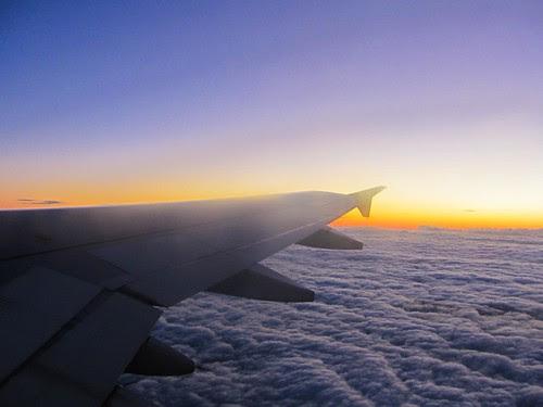 Volando de Barcelona a Alicante